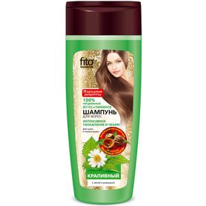 Kopřivový šampon na suché a tenké vlasy s mátou a heřmánkem -Fitokosmetik - 270 ml
