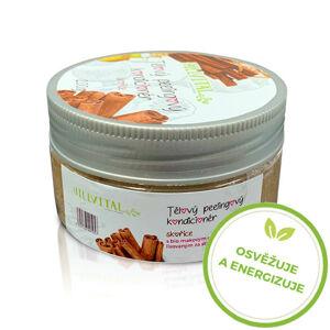 HillVital | Tělový peelingový kondicionér - skořice, 200g
